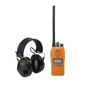 Icom Prohunt Basic 2 Orange + Peltor Sporttac